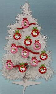 Hello Kitty Christmas Tree.Details About Hello Kitty 23 Christmas Tree 12 Ornaments Girls Decoration Mini Tabletop New