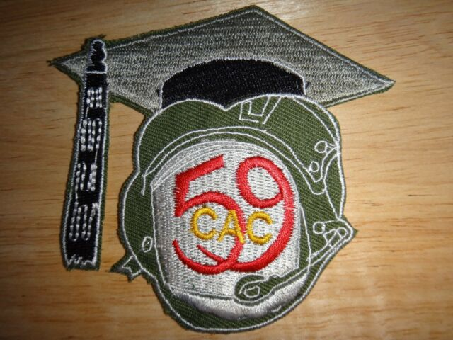 US Army 59th Combat Aviation Company DEANS Machine Embroidered Patch