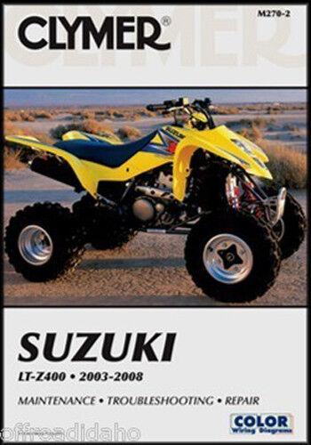 suzuki ltz400 kawasaki kfx400 ltz kfx 400 repair service manual book rh ebay com suzuki ltz 400 manual cz suzuki ltz 400 manual pdf free