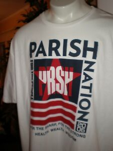 """Parish Nation Navy /""""Zoomed In/"""" T-Shirt"""