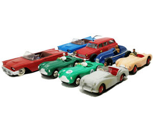 Dinky-Toys-Benz-Racing-Triumph-TR2-Aston-Martin-Peugeot-1-43-Scale-Diecast-Model