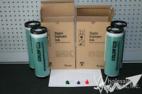4 Green Inks Compatible With Riso For Risograph Gr3750 Gr3770 Fr Gr Rp