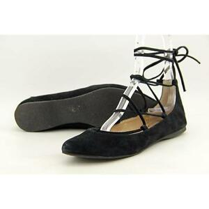 e279cf46a9c Steve Madden Eleanorr Women US 6 Black Flats Pre Owned 3564