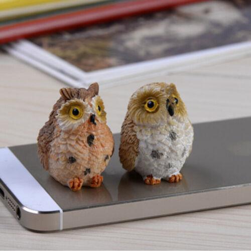 Chic Garden Owl Moss Terrarium Desktop Decor Crafts Bonsai Animals Miniature