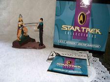 1997 Star Trek Miniature Diorama Voyager Doctor Beowolf  Vintage New MIB