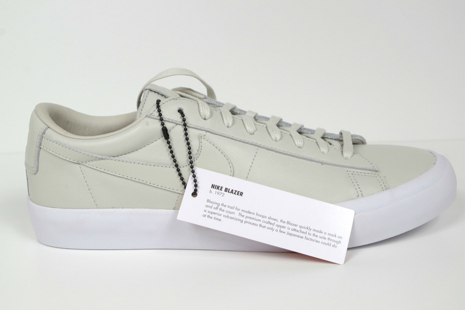 NIKE BLAZER STUDIO QS LIGHT BONE size US 6.5 BNIB 850478-001