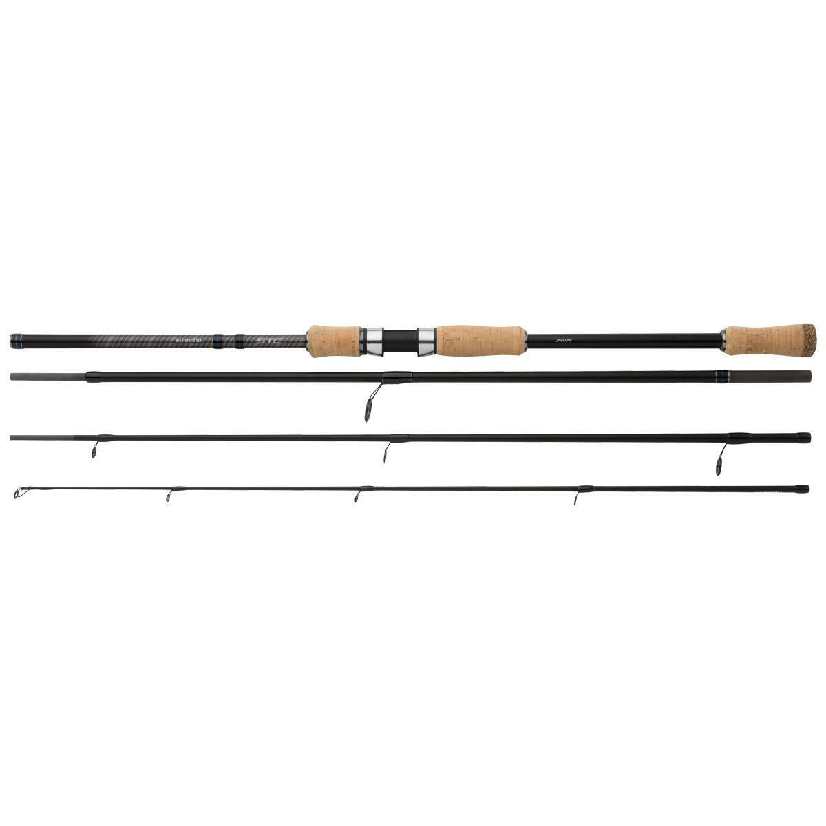 Shimano STC 240xh 50-100g   Viaje Caña de Pescar de Spinning