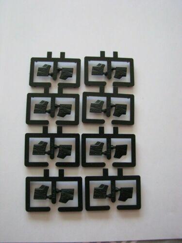 Herpa LKW-Teilekonvolut Abdeckungen schwarz 8-teilig
