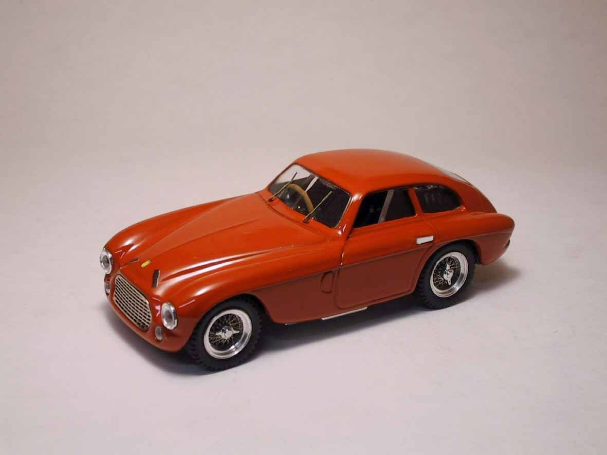 Ferrari 166 MM Coupe' 1950 rouge 1 43 Model 0001 ART-MODEL