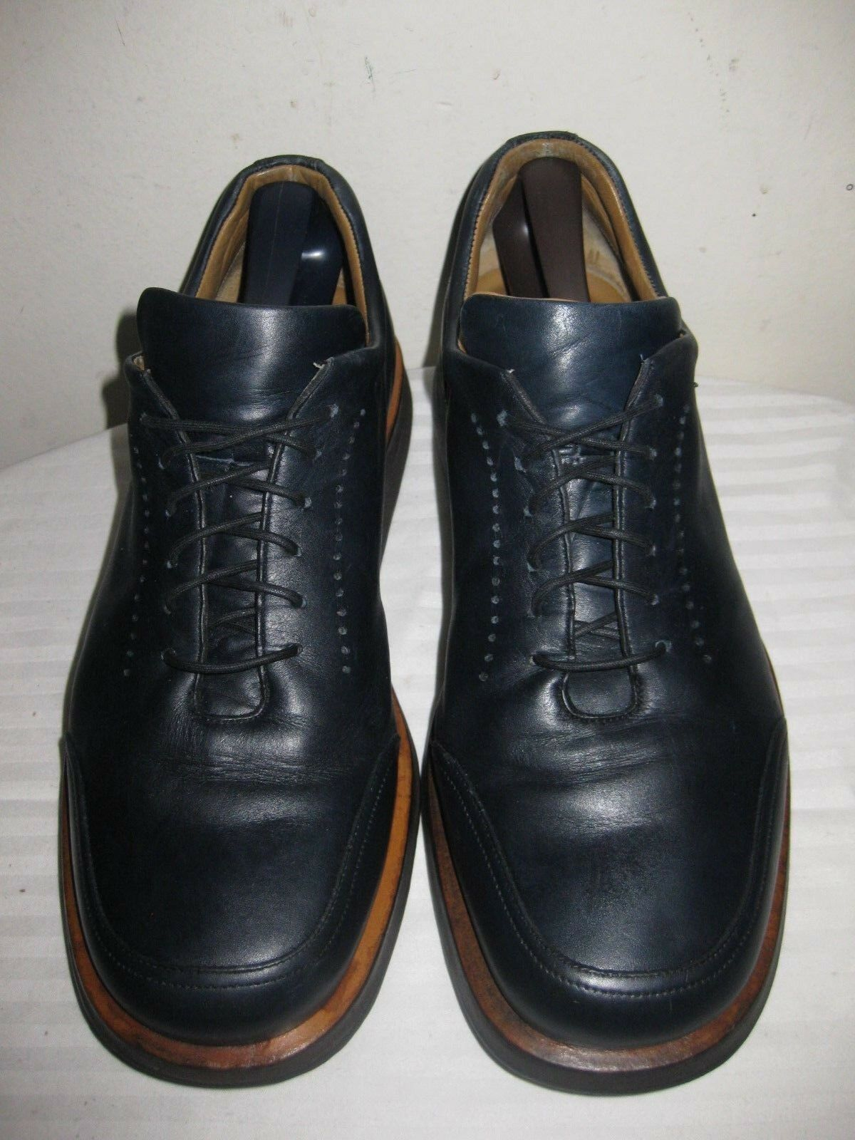 Bally Rutger Pelle Oxford  Lace Up Uomo Shoes Size 8 E Made In  Italy .