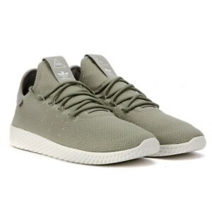 7e13f5c46 Image is loading Adidas-Originals-Pharrell-Williams-Tennis-HU-Beige-Tan-