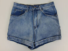 Rockn Rev Boohoo Lexi High Waisted Stone Wash Mom Shorts - Womens US 10 - NWT