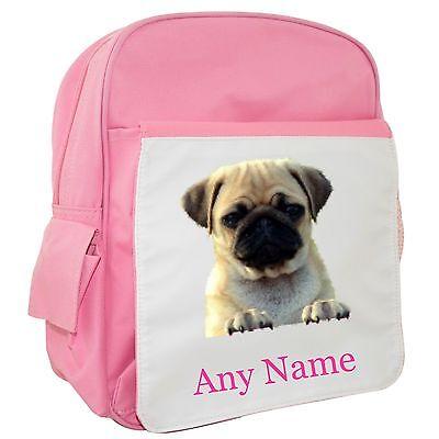 Personalised Dinosaur//T Rex Head Backpack//Rucksack//School Bag BLUE//RED//PINK