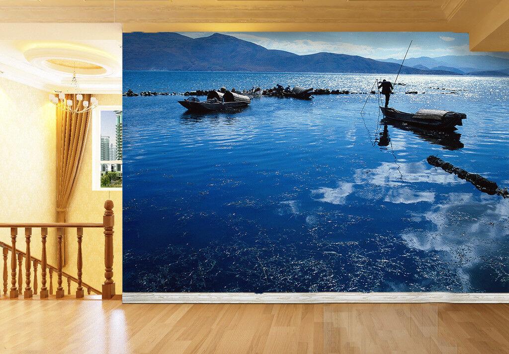 3D Yunnan Dali Erhai 88 Tapete Wandgemälde Tapete Tapeten Bild Familie DE Summer