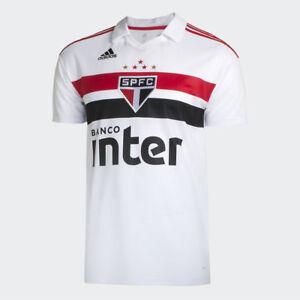 c746d05a4 Sao Paulo Home Soccer Football Jersey Shirt - 2018 2019 Adidas ...