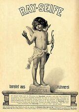 Ray-Seife Amor mit dem Pfeil Künstlerwerbung Historische Reklame 1905