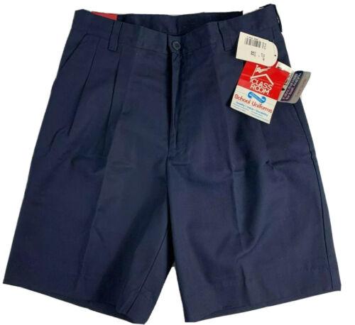 Details about  /Classroom School Uniforms Boys Uniform Shorts NWT 52054 Navy Size 32 UNI15