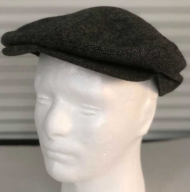 Dockers Mens Wool Hat Newsboy Cap Cabbie Gray Size Large Snap Bill WPL13207 77af54bbe910