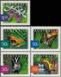 2003-AUSTRALIA-Rainforests-5-MNH