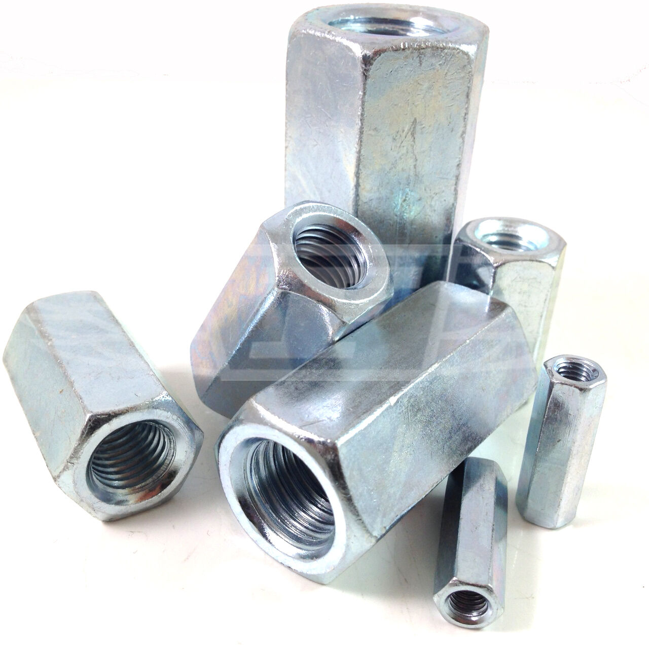 M16 HEX FULLY THREADED STUD CONNECTOR COUPLER JOINING CONNECTING ALLTHREAD NUT