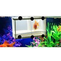Fish Breeding Aquarium Xl Tank Big Hatchery Plastic Box Fish Incubator Net V0n7