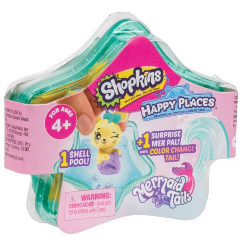 Shopkins Felice luoghi Sirena Tails sorpresa Pack-HAP30000