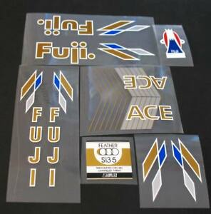 sku Fuji-S124 Fuji 1983 Espree Bicycle Decal Set