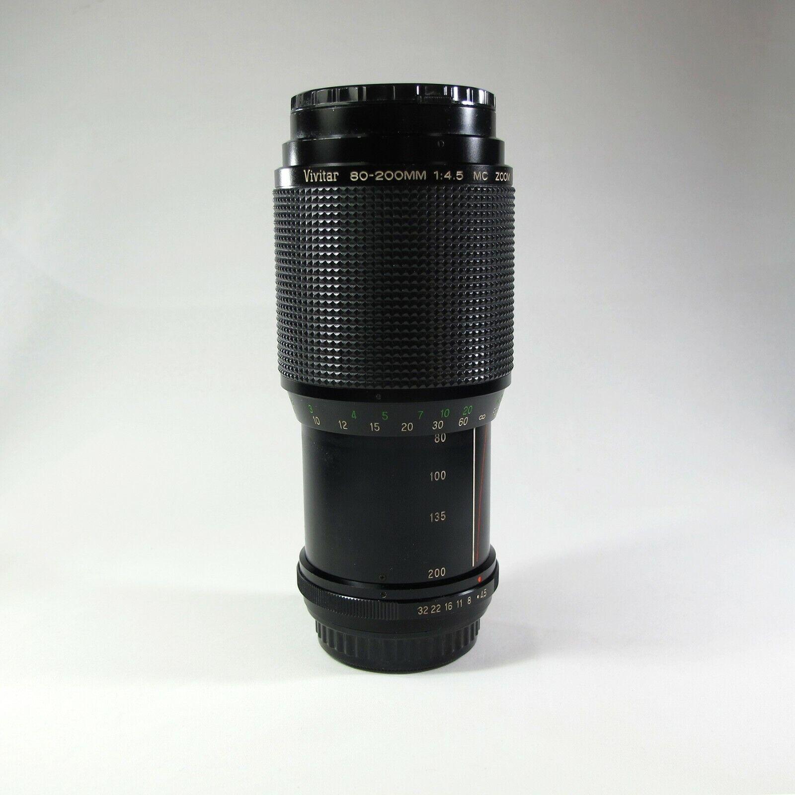 OBJETIVO PARA PENTAX 80-200MM f4.5-Defectuoso