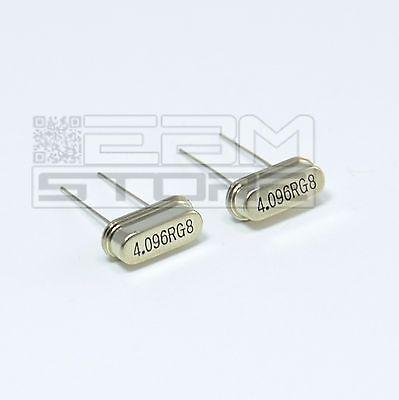 2 pz Quarzi 4,096 MHZ quarzo pic atmega arduino CX15 ART