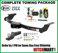 Fits 2007-2014 Toyota Fj Cruiser Class 3 Curt Trailer Hitch Package 2 Receiver