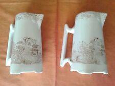 Coppia di brocche ceramiche Richard antecedenti al 1896