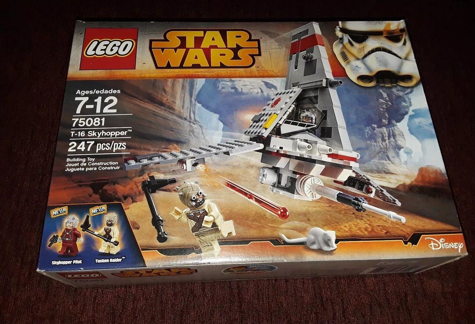 Lego Star Wars Set # 75081 T-16 Skyhopper New Sealed