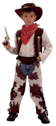 Cowboy e cowprint Chaps bambini libro settimana ragazzi Costume