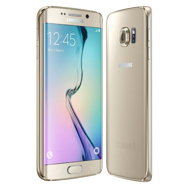 4f10a63e93e Samsung Galaxy S6 edge+ + SM-G928 - 32GB - Gold Platinum (T-Mobile ...