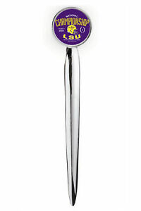 NCAA LSU Tigers Adult Letter Opener Silver