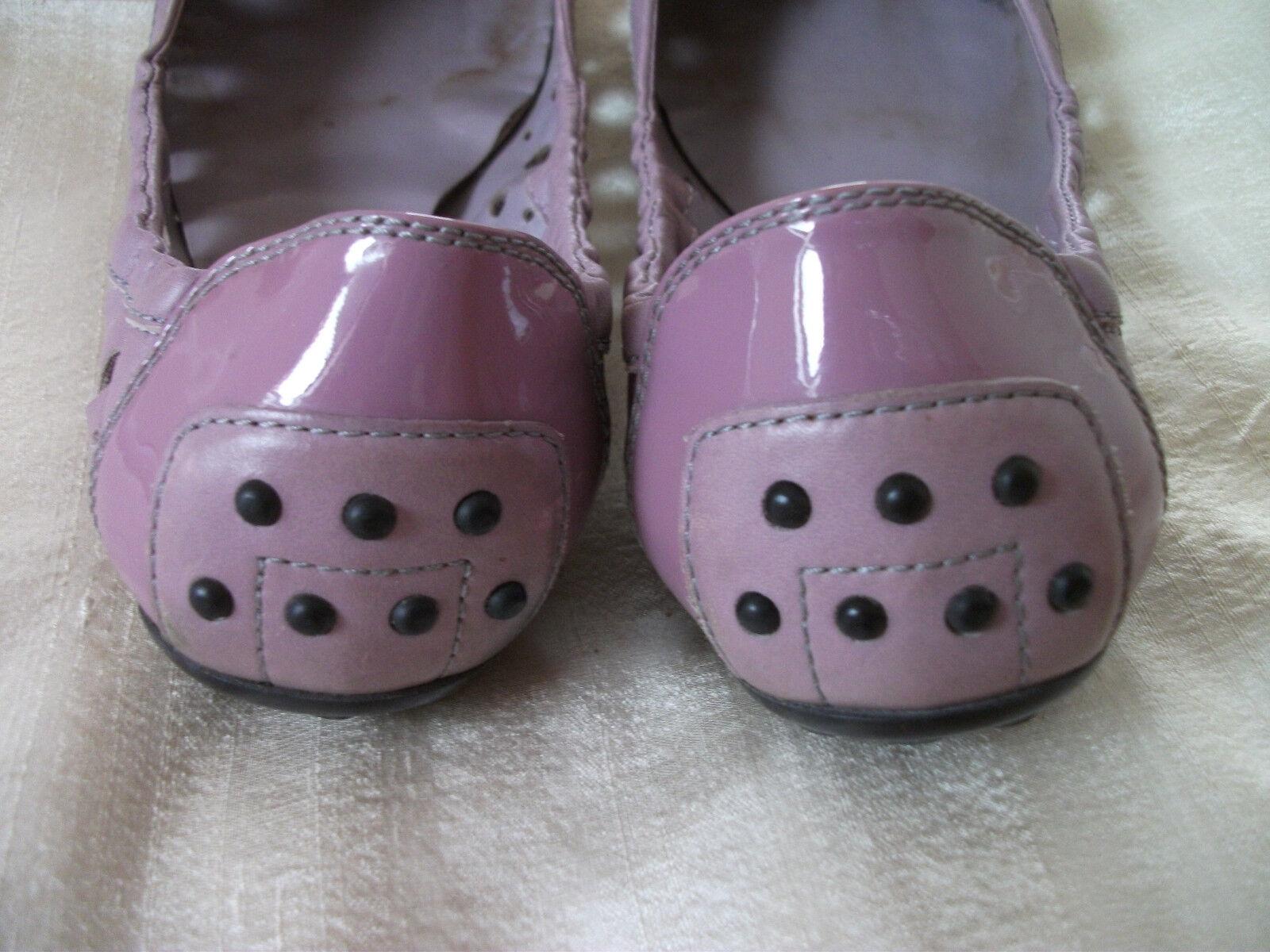 Orig. TOD`S - hochwertige, exklusive violette Luxus-Ballerinas Gr. 37 37 37 f57dfd