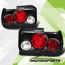 1993 1994 1995 1996 1997 Toyota Corolla Black Tail Lights Rear Lamps G2