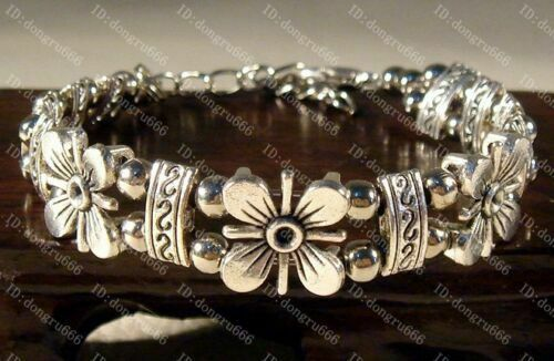 Lovely Beautiful Tibet silver bracelet Fashion lucky bangle A769