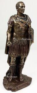 Gaius-Julius-Caesar-Roman-Dictator-Emperor-Statue-Sculpture-Bronze-Finish