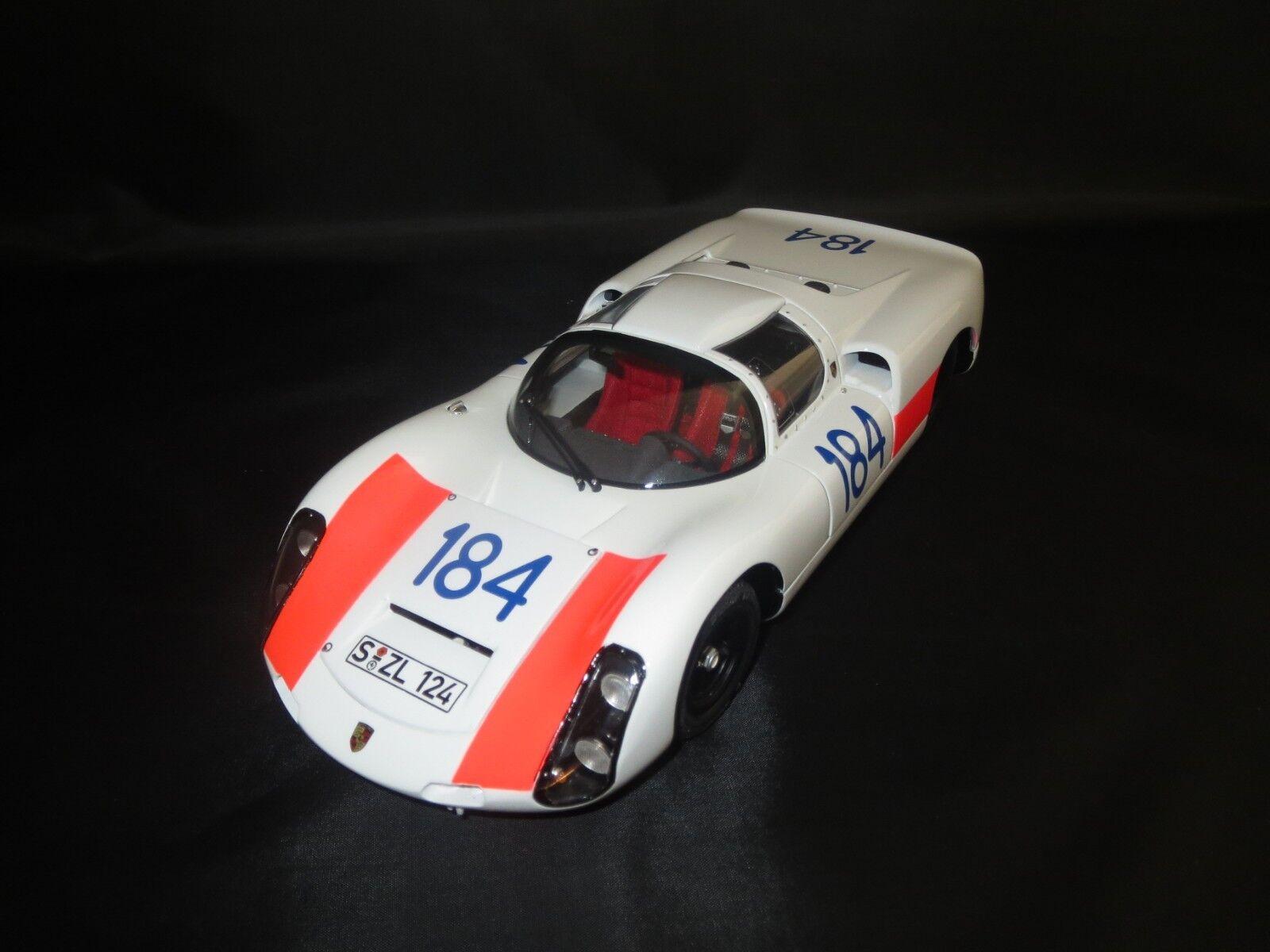 Exoto Motorbox Porsche 910 Targa Florio (U.Maglioli U.Schütz  184) 1 18 ohne Vp.    Sonderpreis