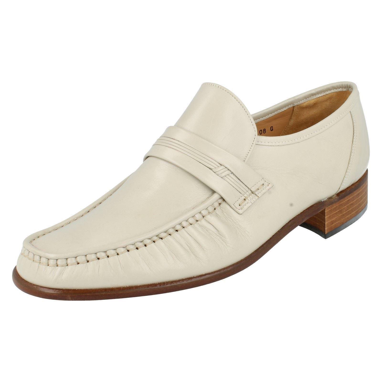 Clapham Herren Grenson Slipper Leder Mokassin Stil Feierlichen Feierlichen Feierlichen Anlass Schuhe d1c443