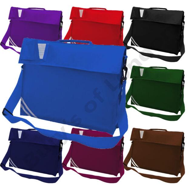 Kids School Book Bag with Strap Bookbag Quadra Classic Reading Book Bag Printing