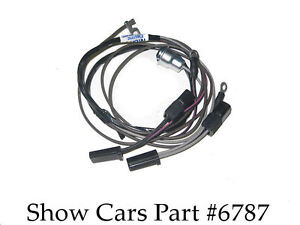 409 high perf 64,63,chevy chevrolet impala ss bel air tach ... 63 impala wire harness