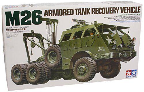 TAMIYA 1  35 M26 Armed Tank Recovery fordon modellllerler Kit NY från japan