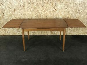 60er-70er-Jahre-Oak-Teak-Esstisch-Dining-Table-Danish-Modern-Design-Denmark-60s
