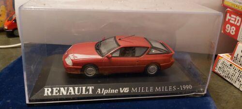 IXO 1//43 RENAULT ALPINE V6 MILLE MILES 1990 NEUF EN BOITE