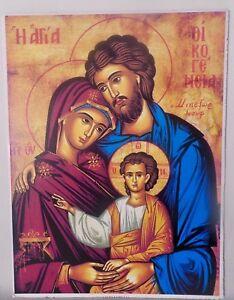 heilige bild jesus baby 40x30 maria josef jesus geburt religiöse ikonen bilder | ebay