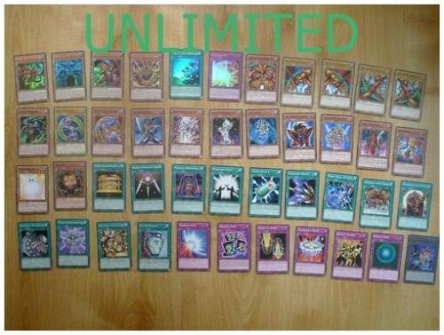 Exodia Deck Sealed UNLIMITED Egyptian God Cards Legendary Decks II 2