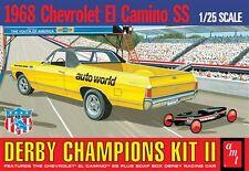 AMT 1968 El Camino (with Bonus Soap Box Derby Car) Model Kit 1/25