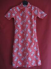 Robe été à Fleurs CAROLA Vintage Femme Années 70 Ancien dress - 38